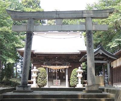 北金目神社をゆく: まほろば